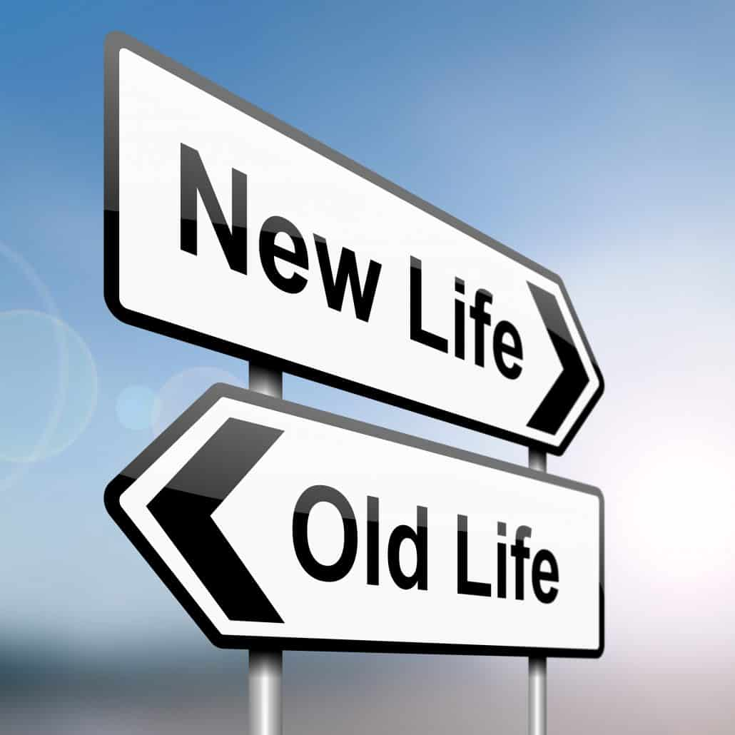New Life Old Life Signages
